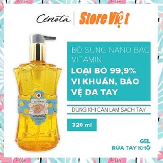 Gel rửa tay khô Cenota 320ml, Gel rửa tay khô làm sạch vi khuẩn, bảo vệ da tay - Store Việt thumbnail
