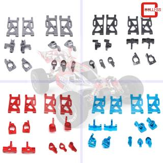 13Pcs/set Metal Front Rear Wheel Seat Base C Swing Arm Steering Clutch Component for WLtoys 144001 1/14 RC Car Upgrade Spare Parts