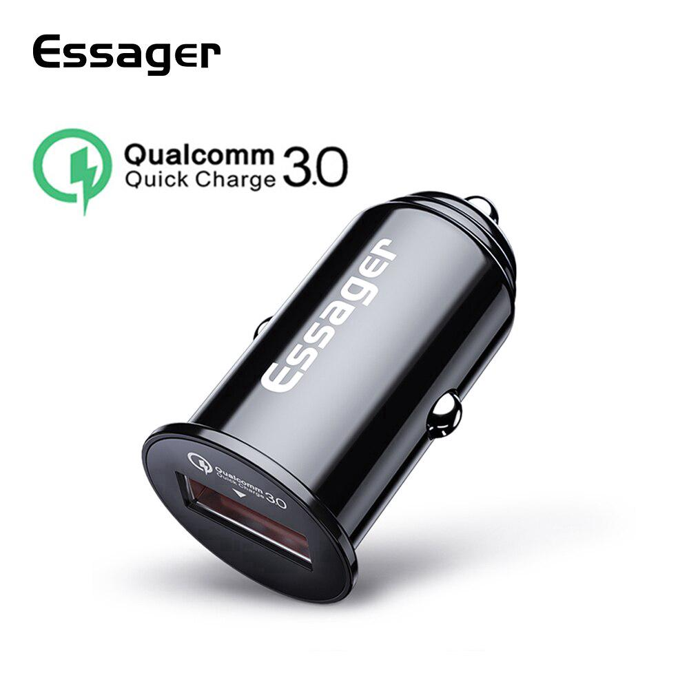 Tẩu sạc nhanh Essager cho Xiaomi Mi 9 iPhone XS Max Samsung Huawei p30 pro Redmi