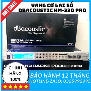 Vang cơ lai số chính hãng DBACOUSTIC KM330 Pro, vang cơ km330pro, tặng dây kết nối đi kèm, thiết bị âm thanh karaoke. thumbnail