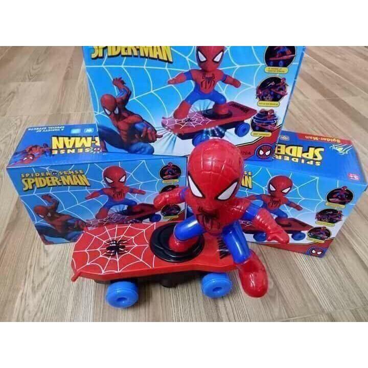 Đồ chơi người nhện trượt ván - 2408930 , 1199160069 , 322_1199160069 , 75000 , Do-choi-nguoi-nhen-truot-van-322_1199160069 , shopee.vn , Đồ chơi người nhện trượt ván