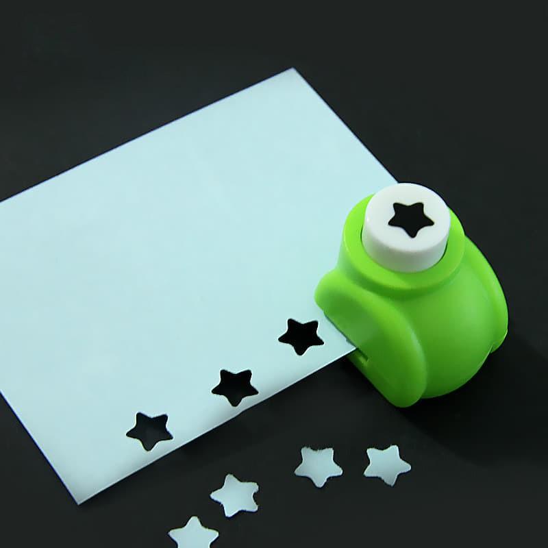 Dụng cụ cắt giấy mini, đục lỗ tạo hình để DIY
