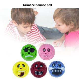 ★Lp★1/5pcs Ghost Shape Bouncing Ball Elastic Rubber Balls Jumping Bouncy Toys