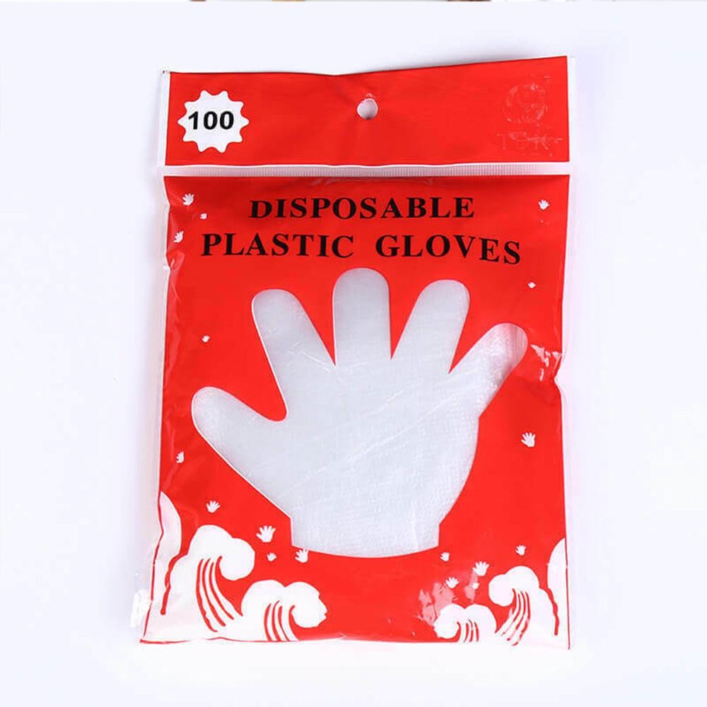 Set 100 Găng Tay Nhựa Dùng Một Lần