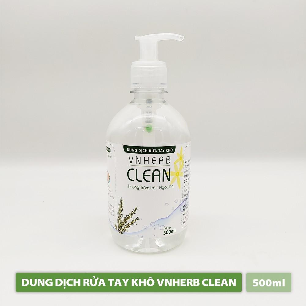 Nước Rửa Tay Khô -VNHERB CLEAN (500ml)