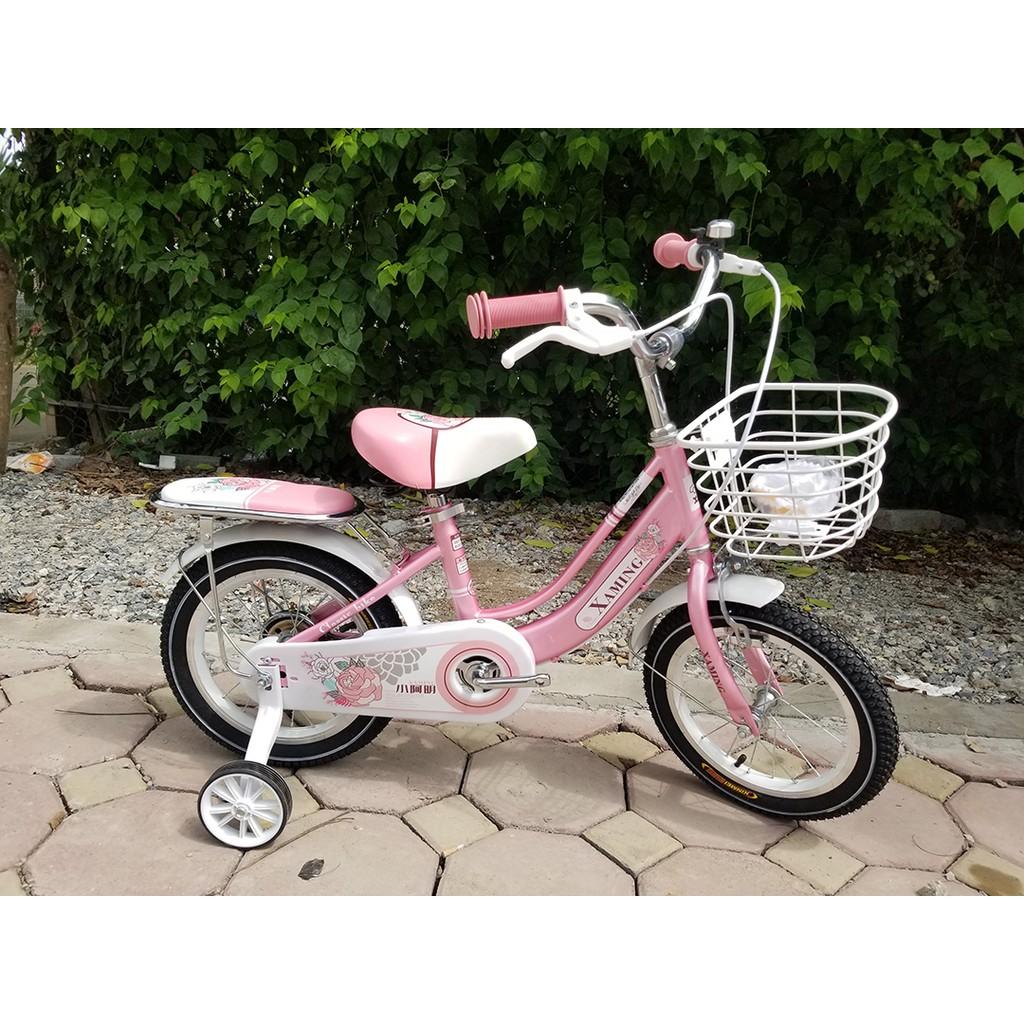 Xe đạp trẻ em giá rẻ 12-14-16 - 20 inch bé gái và bé trai