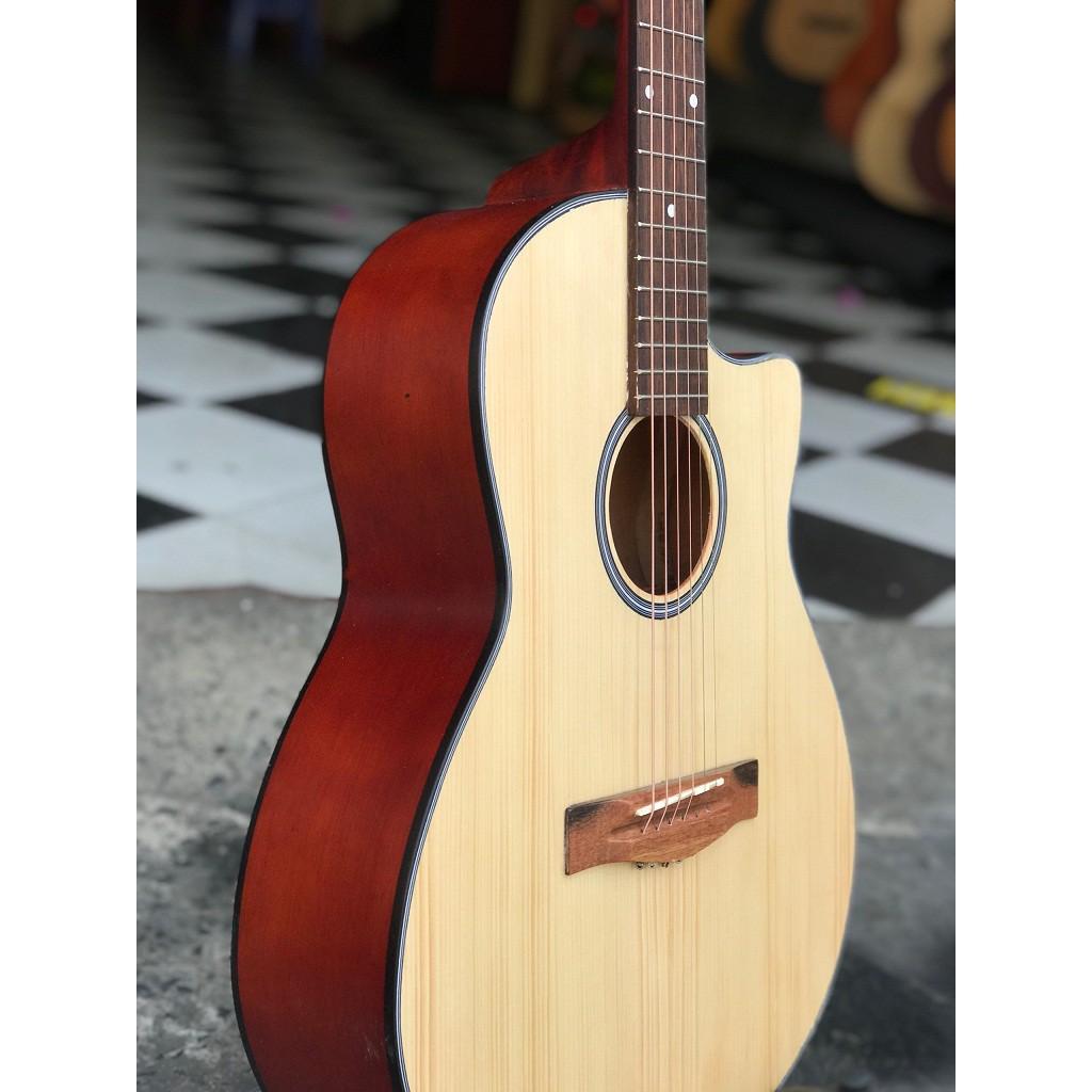 Guitar Acoustic + Bao da