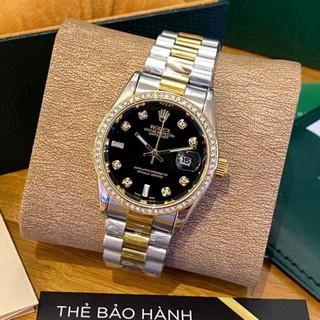 [Fullboxx 1 1] Đồng hồ nam Rolex - viền đá dây kim loại chống nước - DH501 Shop404 thumbnail