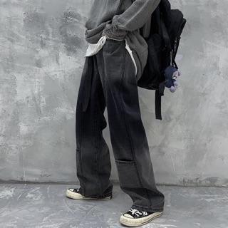 Quần Jeans ống rộng cá tính cho cả nam và nữ [Hàng order] (ảnh thật ở 3 hình cuối) 7