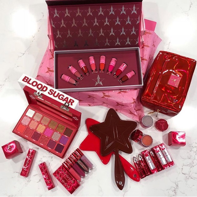 [ORDER] JEFFREE STAR LOVE SICK COLLECTION SET SON ĐỎ 8 THỎI MINISIZE