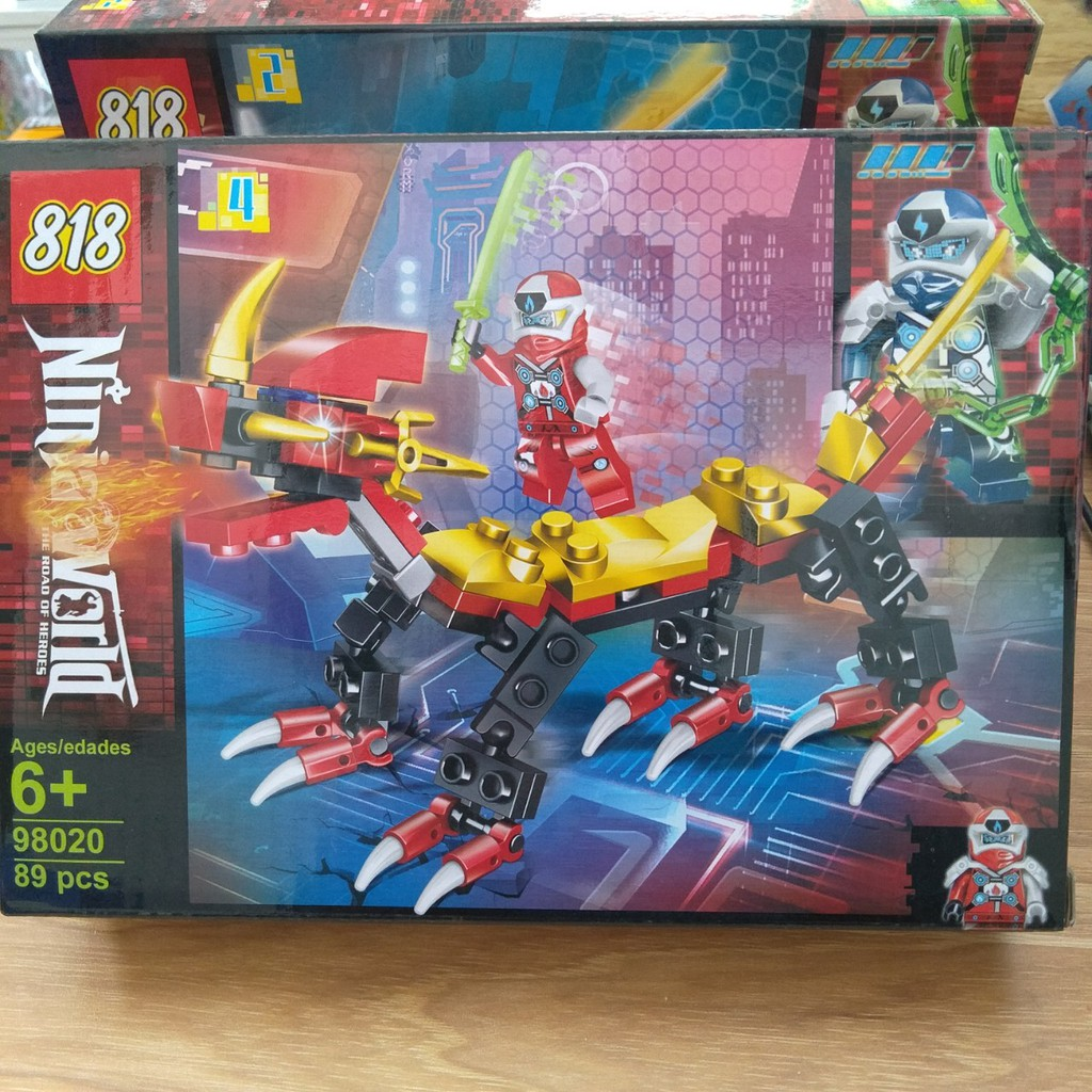 Lắp ráp xếp hình lego ninjago 98020(4 mẫu quý khách chat chọn mẫu) giảm  tiếp 32,760đ