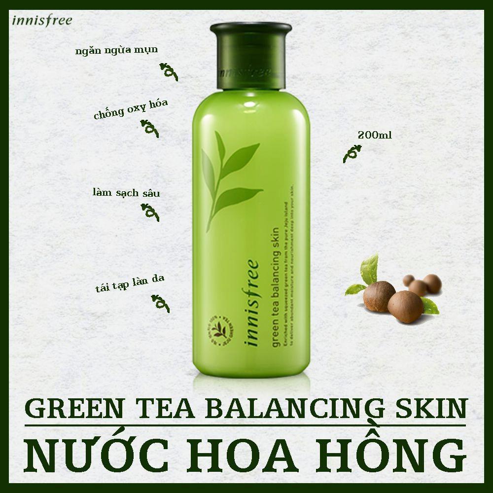 Nước hoa hồng Trà xanh Balancing Skin Innisfree - 2446846 , 3275224 , 322_3275224 , 290000 , Nuoc-hoa-hong-Tra-xanh-Balancing-Skin-Innisfree-322_3275224 , shopee.vn , Nước hoa hồng Trà xanh Balancing Skin Innisfree