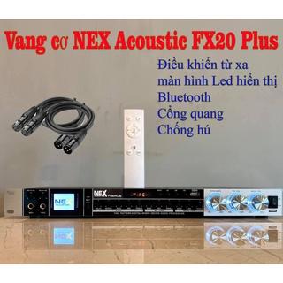 vang cơ nex FX20 PLUS , cống hú ,cổng quang , usb , blutooth , tặng 2 dây canon , new2021 thumbnail