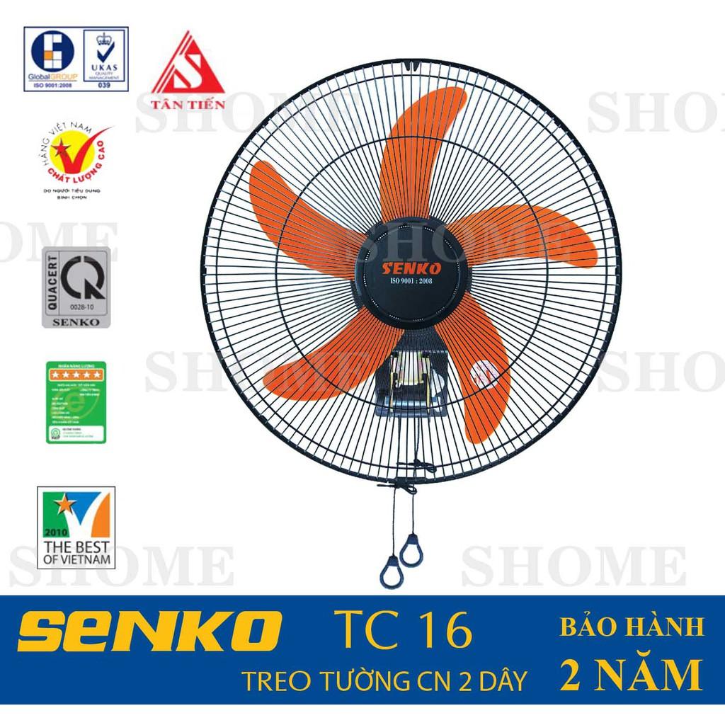Quạt treo tường cao cấp Senko TC16 - 3484852 , 939936595 , 322_939936595 , 310000 , Quat-treo-tuong-cao-cap-Senko-TC16-322_939936595 , shopee.vn , Quạt treo tường cao cấp Senko TC16