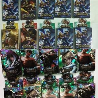 Combo 10 bộ bài liên quân mobile legends (25 lá/ mỗi bộ)