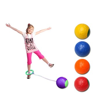 Jump Ball Toys Fitness Ring Foot Shot Single Bouncing Dance