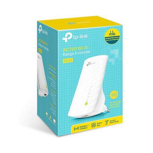 Bộ mở rộng sóng Wifi chuẩn AC750 TP-Link RE200 Chính Hãng