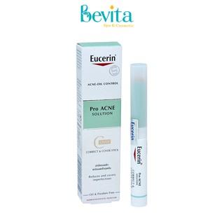 Bút che khuyết điểm Eucerin Pro Acne Correct & Cover Stick 2.5gr, bút che khuyết điểm da mụn - Bevita thumbnail