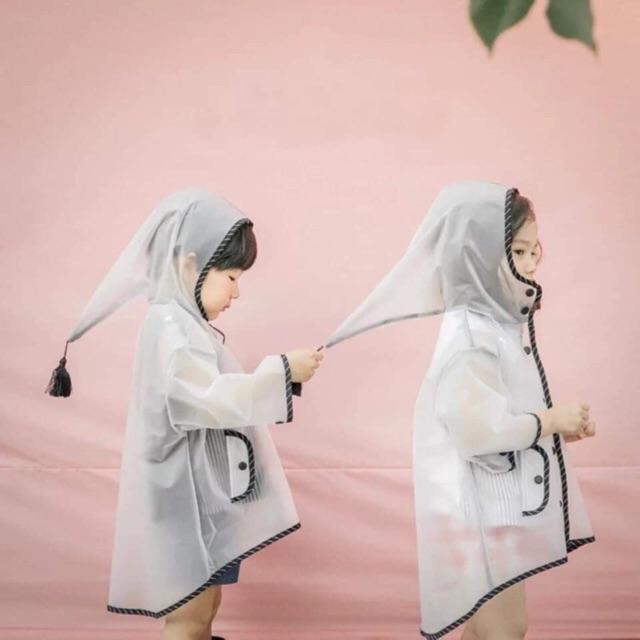 [HOT HIT] Áo mưa trong cho bé