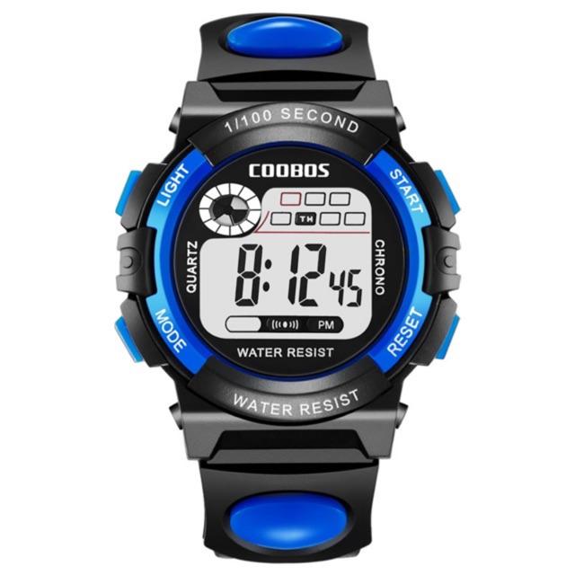 Đồng hồ trẻ em nam coolboss màu xanh dương mẫu 2