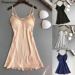 Fgvn Women Sexy Lingerie Silk Lace Robe Dress Babydoll Nightdress Nightgown Sleepwear HOT