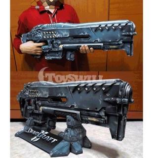 """(có sẵn) Mô hình cắt giấy game """"Vũ khí công nghệ Hi-tech"""""""