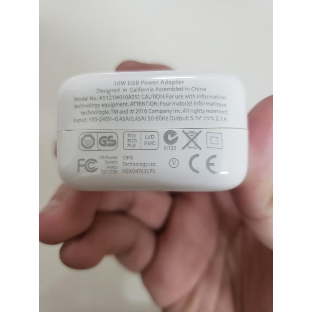 Củ sạc iPad 10w sạc nhanh,dòng điện chuẩn