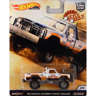 Xe mô hình Hot Wheels '80 Dodge Macho Power Wagon FYN73