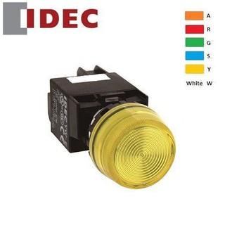 Đèn báo Idec phi 22, YW1P, loại phẳng, 220V AC/DC