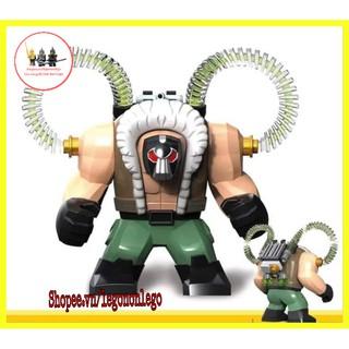 [Mã TOYJULY hoàn 20K xu đơn 50K] Bigfig Lego DC siêu phản diện Bane Decool 0280