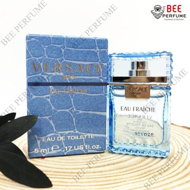 Nước Hoa Mini Versace Man Eau Fraiche EDT 5ML chính hãng cho nam [SALE SỐC]