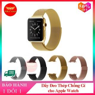 Dây Đeo Apple Watch Thép Không Gỉ - dành cho Đồng Hồ Thông Minh Apple Watch Series 5/4/3/2/1 (Milanese Loops)