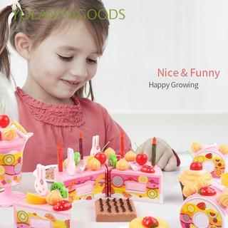 🍊38-75Pcs Funny Fashion Kids Gift Early Education Adorable Birthday Cake/Fruit Cutting