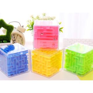 [Cho Bé] Đồ chơi thử thách trí tuệ Maze cube twist 3D