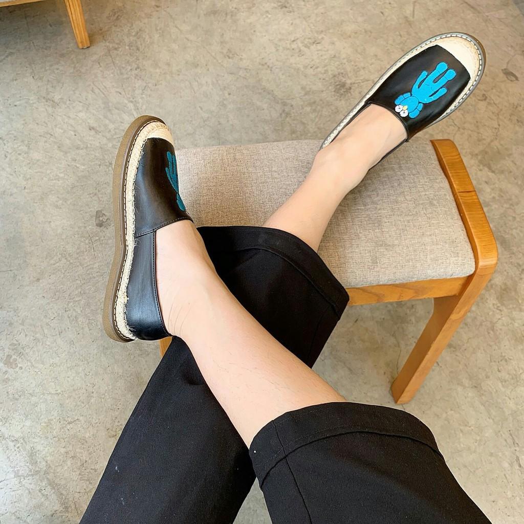 (HOT TREND) Giày mọi nữ, giày lười nữ, giày bệt nữ Kute, xinh xắn dễ thương