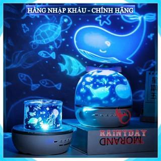 [FreeShip_Hàng Loại 1] Đèn ngủ led chiếu sao cao cấp dãy ngân hà bầu trời vũ trụ đại dương 3D cho bé tự xoay trần nhà
