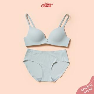 Bộ quần áo lót nữ Venus Charm 1803 đệm mỏng không gọng ôm ngực tự nhiên thumbnail