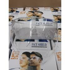 Kính chống giọt bắn phòng dịch FACE SHIELD kín mặt, người lớn trong suốt
