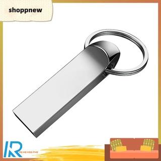 Shoppnew HS297 Metal USB 2.0 Flash Drive Pendrive 8GB 16GB 32GB 64GB 128GB Pen Drive