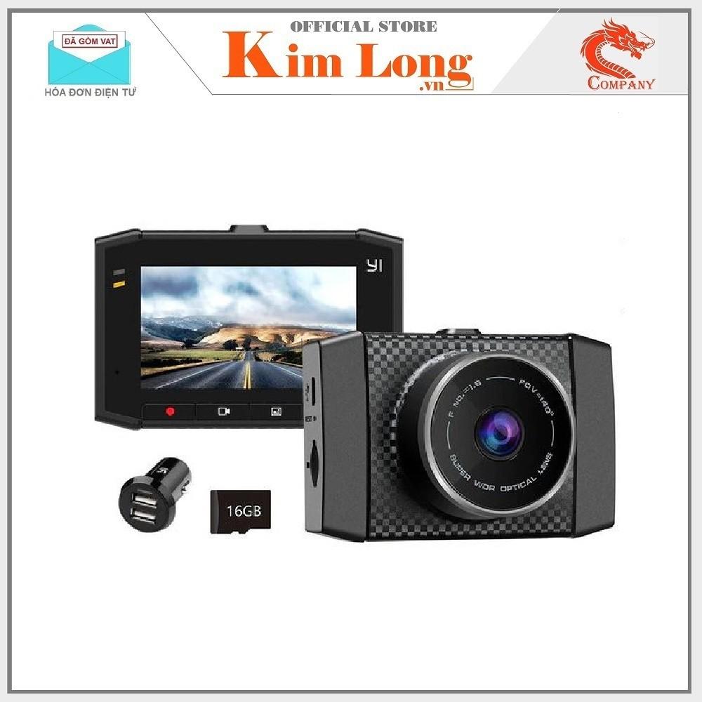Camera hành trình xe hơi Yi 2.7K Ultra Dash Cam bản quốc tế - Chính hãng phân phối