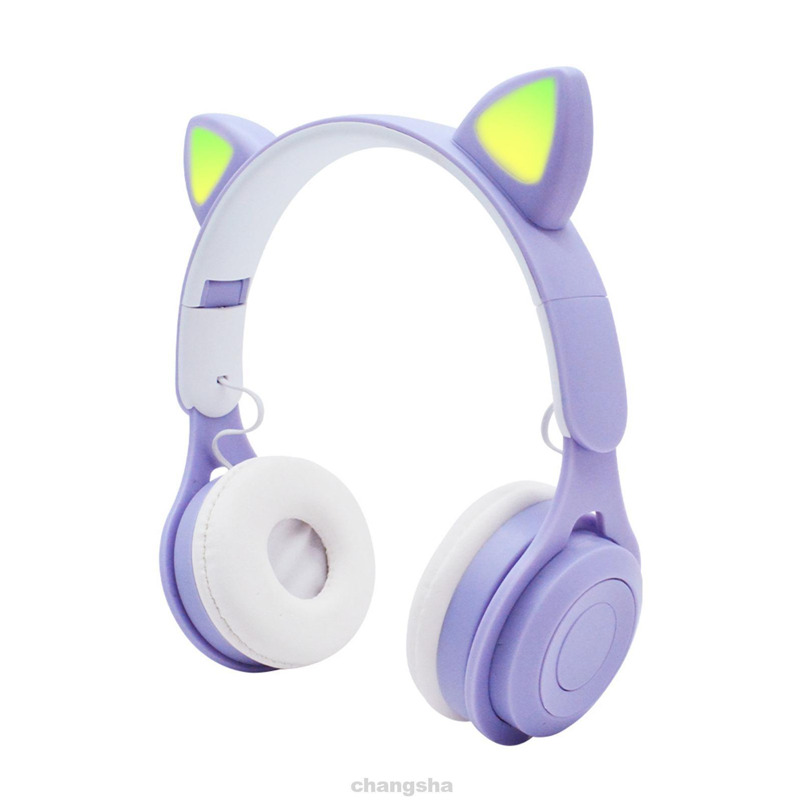 Tai Nghe Bluetooth 5.0 Âm Thanh Hifi Có Đèn Led