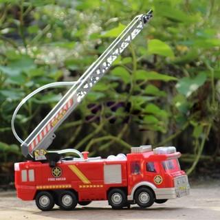 Xe cứu hỏa phun nước thông minh