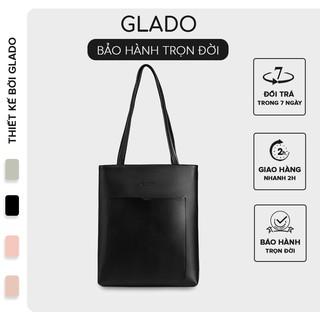 [Mã INCU50 giảm 50k đơn 250k] Túi xách nữ phong cách Hàn Quốc sành điệu thời trang Glado màu đen - TG003 thumbnail