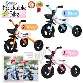 Xe đạp 3 bánh cho bé (2-6 tuổi )có thể gập lại gọn gàng