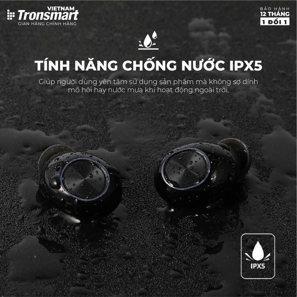 Tai nghe Bluetooth 5.0 Tronsmart Spunky Beat Khử tiếng ồn Chống nước IPX5 - Hàng chính hãng - Bảo hành 12 tháng 1 đổi 1
