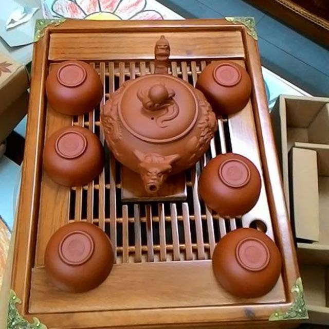 COMBO Bộ ấm chén đất nung và khay trà gỗ sang trọng y hình - 2429317 , 142819180 , 322_142819180 , 155000 , COMBO-Bo-am-chen-dat-nung-va-khay-tra-go-sang-trong-y-hinh-322_142819180 , shopee.vn , COMBO Bộ ấm chén đất nung và khay trà gỗ sang trọng y hình