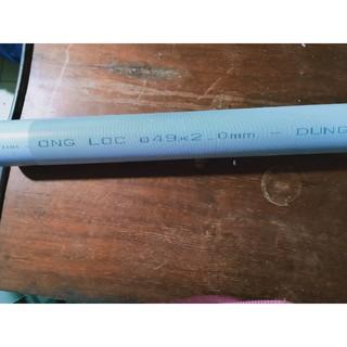 30cm ống lược dưới dùng trong cột lọc composite, inox, ống phi 49