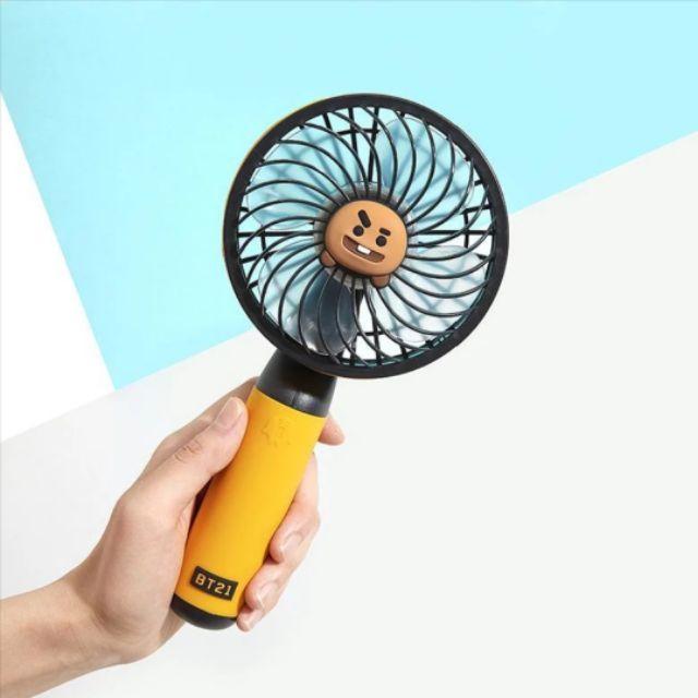 [Có Sẵn, Unseal] Handy Fan BT21 Ver 1 Shooky Hàng Official