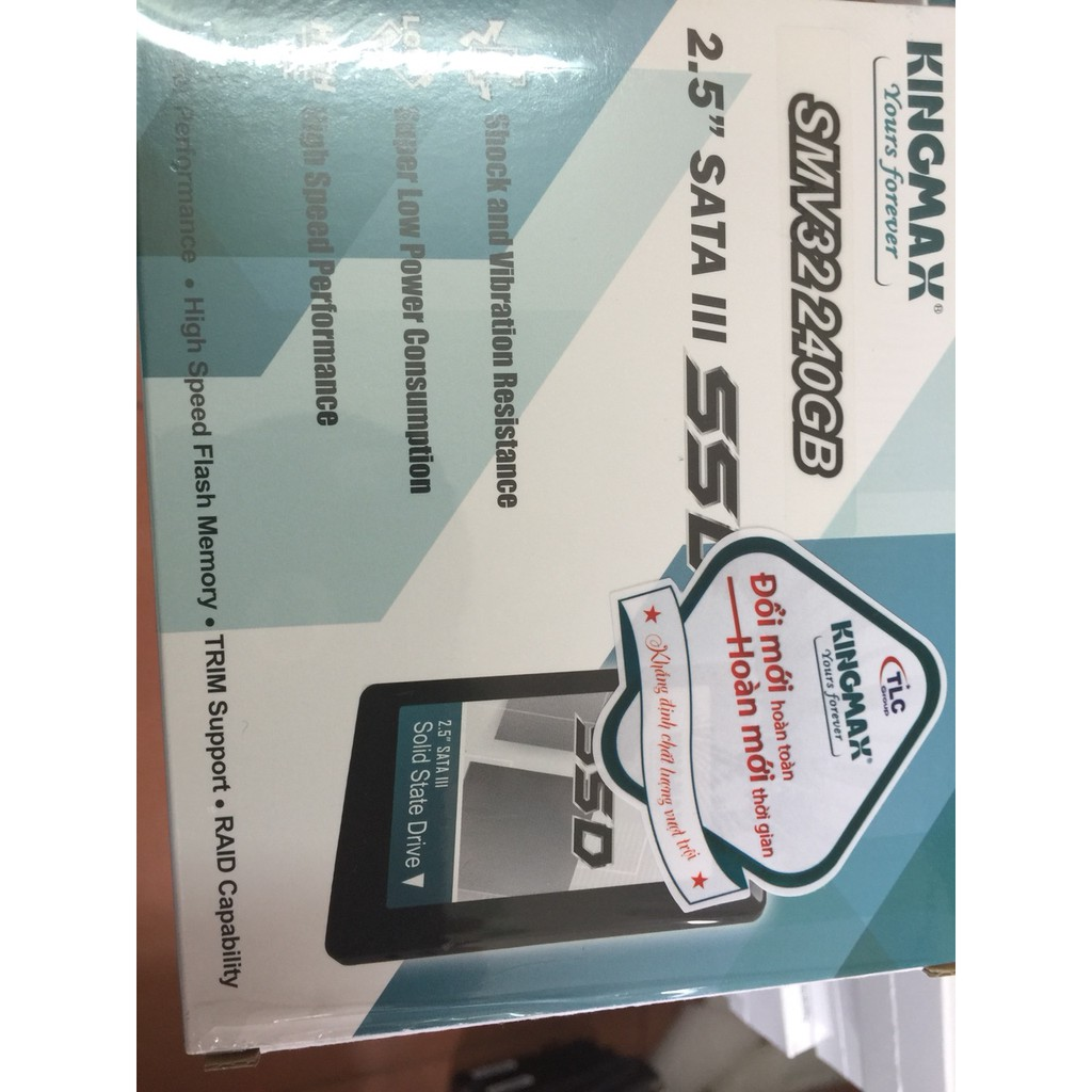 SSD Kingmax SMV32 240Gb Giá chỉ 750.000₫