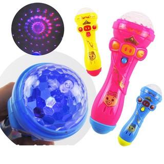Đồ chơi micro có đèn cho bé